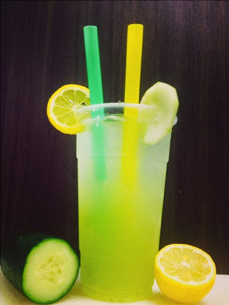lemonade and cucumber
